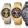 August Steiner Men's Multifunction Quartz Watch