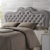 Sylvia Button-Tufted Fabric Headboard