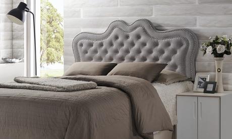 Sylvia Button-Tufted Fabric Headboard a3c318a4-84f0-448b-9e0f-90ba1b039fb9