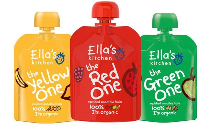 ellas kitchen smoothie pouches - Ellas Kitchen