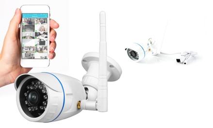 Pyle SereneLife IPCAMHD15 720p HD Waterproof Security Camera