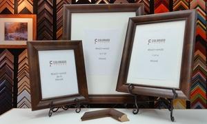 Colorado Frames: Custom Mocha Walnut Picture Frames at Colorado Frames