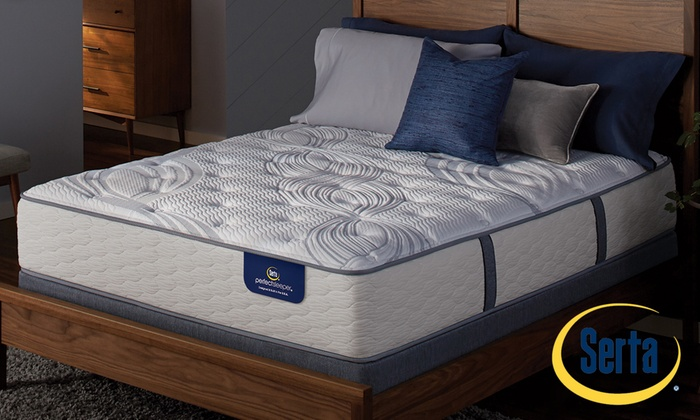 Great Serta Perfect Sleeper Firm Or Plush Mattress Set. Free Delivery.