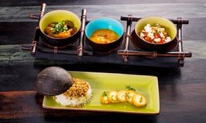 Massai: Exotische Fleischplatte in 3 Gängen mit afrikanischen Spezialitäten für Zwei im Restaurant Massai (14% sparen*)