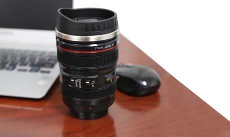 SLR Camera Lens-Style Travel Mug 790a8580-9d33-11e5-9e6e-00259098486a