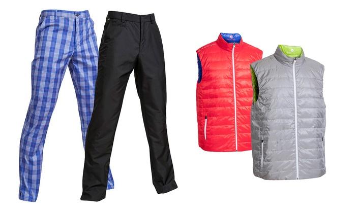 Pantaloni e gilet da golf per uomo groupon goods for Interno coscia uomo