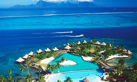 groupon daily deal - ✈5-Night InterContinental Tahiti & Moorea with Airfareand Transfers.Price/Person Based on Double Occupancy.