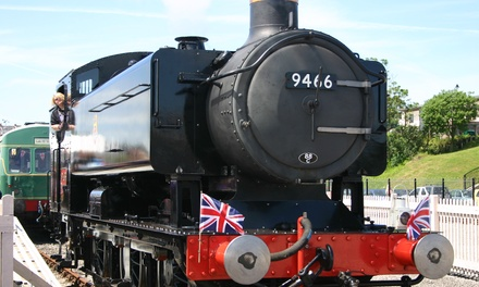 Railway Experience for Two Adults or a Family of Five at Barry Tourist Railway