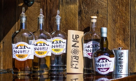 Distillery Tasting, Cocktails & Take-Home Flask for Two or Four at Up North Distillery (Up to 56% Off)