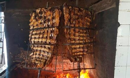 Desde $249 por tabla de entradas + parrillada completa con guarnición para dos o cuatro en Don Goyo, Parrilla Restaurant