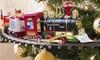 Treno natalizio decorativo