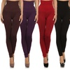 Women's High-Waist Slimming Compression Leggings (3- or 6-Pack)