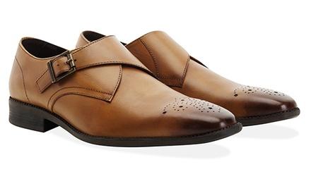 Chaussures de ville en cuir Redfoot modèle Monk