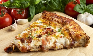 Rosati's Pizza: $19 for One 18 inch- and 12-Inch Thin-Crust Cheese Pizza at Rosati's Pizza ($31 Value)