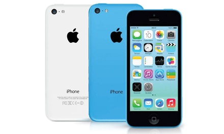Apple iPhone 5C de 16GB reacondicionado en color azul o blanco (envío gratuito)
