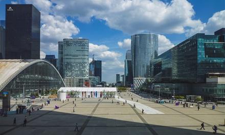 Nanterre: tweepersoonskamer met parkeren en naar keuze ontbijt voor 2 bij Campanile Paris Ouest Nanterre La Défense