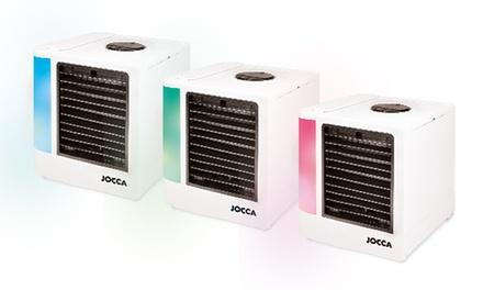 Climatizador de aire frío 3 en 1 con pantalla LED Jocca