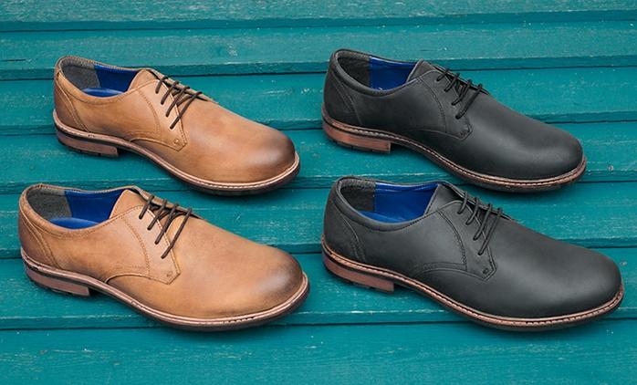 Zapatos Plain Derby para hombre por 39,99 € (78% de descuento)
