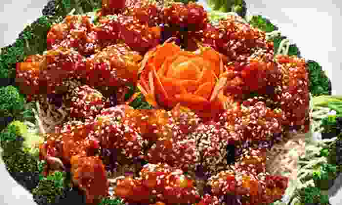 May Dragon - Dallas: $25 for $50 Worth of Chinese Cuisine at May Dragon