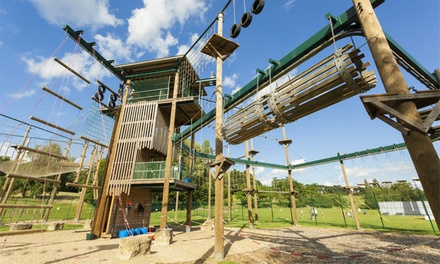 Adrenaline Package with Five Activities for One or Two at Vertigo Adventures (Up to 52% Off)