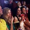 Movie Ticket with Popcorn
