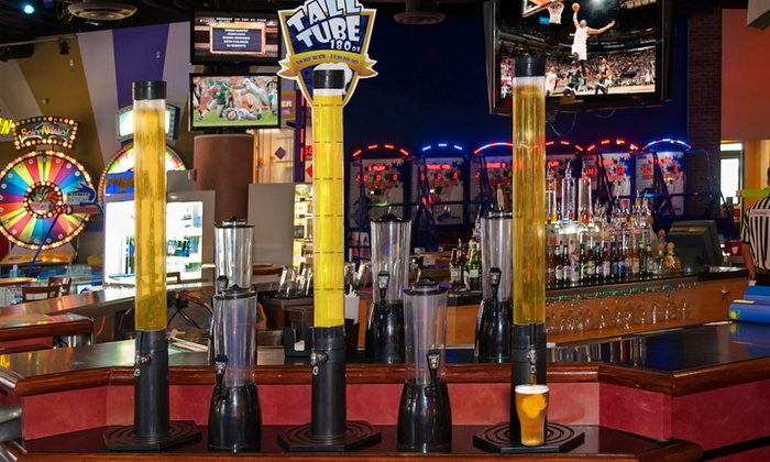 GameTime - Miami: $22 for a 180oz. Tall Tube of Domestic Beer for Four or More at GameTime ($34.99Value)