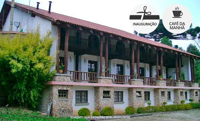 Vale Das Hortências - Campo Largo/PR: até 7 noites para 2 ou 4 pessoas + café da manhã (opções no Natal e Réveillon)