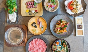 Tokimeite: Japanese-Style Sunday Brunch with a Glass ofSparkling Sake for Two or Four at Tokimeite (Up to 64% Off)