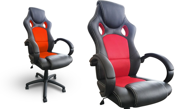 ViscoLogic Sports Car Style fice Chair