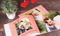 Livre photo personnalisable avec couverture rigide de 28 à 160 pages dès 3,99€ (jusquà 87% de réduction)