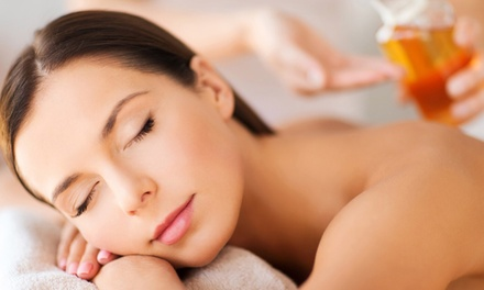 OneHour Massage or AromaTouch Technique Up to Three Visits at Natural Way To Good Health Up to $210 Value