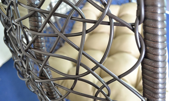 Rotan Hangstoel Buiten.Tot 35 Op Rotan Hangstoel Twin Groupon Producten
