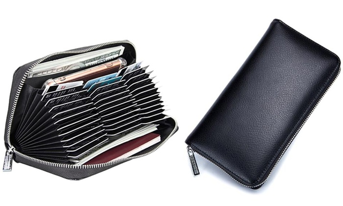 9fcc3ae4ea Up To 37% Off on 36-Card Slot Long Wallet | Groupon Goods