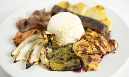 $16 for $30 Worth of Mediterranean Dinner and Wine at Phoenicia Mediterranean Restaurant