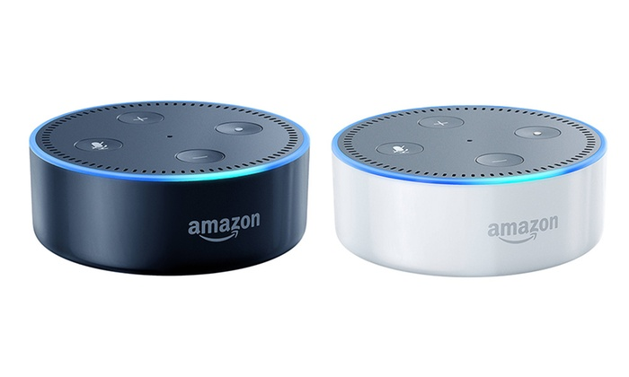 amazon echo dot groupon goods. Black Bedroom Furniture Sets. Home Design Ideas