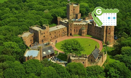 Cheshire: Classic Room for Two with Breakfast, Dinner and 10% Off Spa Treatments at Award Winning 4* Peckforton Castle