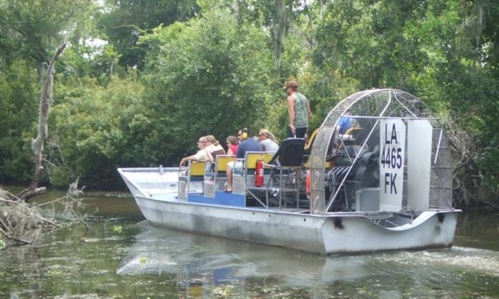 Swamp Tour New Orleans >> Louisiana Tour Company Up To 21 Off Marrero La Groupon