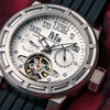 Reign Rothschild Men's Pro Diver Semi-Skeleton Automatic Watch