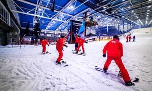 SnowZone: Forfait de 4 horas para 1 o 2 personas con opción a alquiler de equipo desde 14,95 € en Madrid SnowZone Xanadú