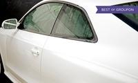 Scheibentönung für 3-Türer, 5-Türer, Kombi oder Limousine bei Donatus Autoglas (bis zu 90% sparen*)