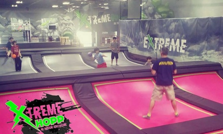 Trampoline Access at XtremeHopp (Up to 58% Off). Four Options Available.