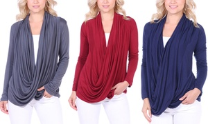 Women's Long-Sleeved Criss Cross Cardigan at Women's Long-Sleeved Criss Cross Cardigan, plus 6.0% Cash Back from Ebates.