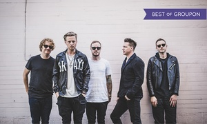 OneRepublic with Fitz & the Tantrums – Up to 41% Off Concert at 2017 Honda Civic Tour Featuring OneRepublic with Fitz & the Tantrums and James Arthur, plus 6.0% Cash Back from Ebates.