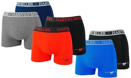 Sparangebote: 2er- od. 4er-Pack Marvey Miller Boxerschorts aus Baumwolle in der Farbe und Größe nach Wahl