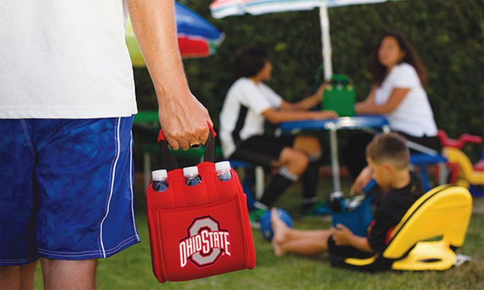 NCAA Insulated 6-Pack Holder