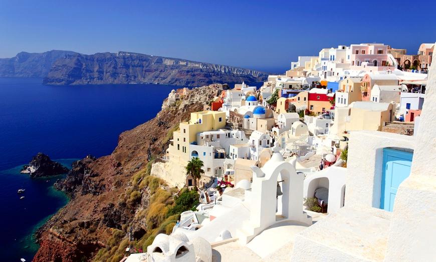 Santorini: volo A/R diretto e 7 notti con colazione ...
