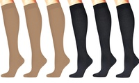 High Energizing Compression Trouser Socks for Men and Women (3-Pack)