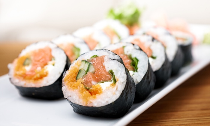 Tomo Sushi and Hibachi Restaurant and Lounge - Downtown: $30 for $50 Worth of Japanese Cuisine at Tomo Sushi and Hibachi Restaurant and Lounge