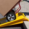 Stalwart Heavy-Duty Portable Curb Ramp with 1000Lb. Capacity
