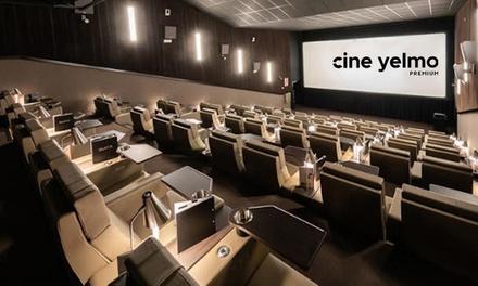 Entrada a Yelmo Cines Premium (hasta 22% de descuento)